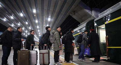 New trends in Spring Festival travel rush