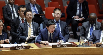 China firmly opposes proliferation of WMDs: envoy