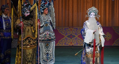 Artists perform on final competition of Fujian Drama Narcissus Award