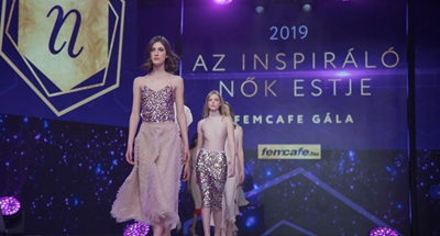 Fashion show held in Budapest, Hungary