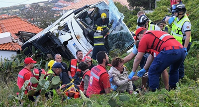 At least 28 killed in bus accident on Portuguese island