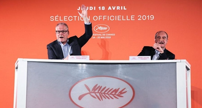 Committee of Cannes Film Festival announces 2019 official selection
