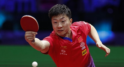 Ma Long romps into men's singles semis at table tennis worlds