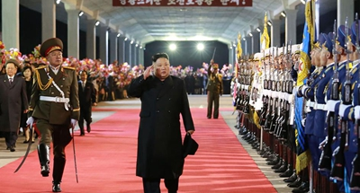 DPRK's Kim returns home after Russia visit