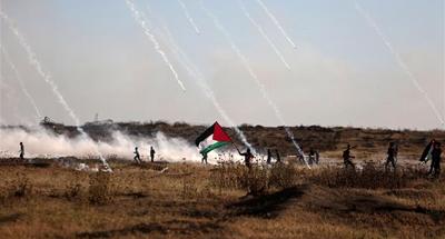 Israeli airstrike kills 2 Hamas militants, clashes in Gaza wound 50 Palestinians