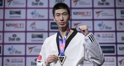 China's Zhao Shuai retains title at taekwondo worlds