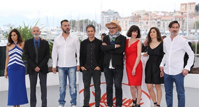 Photocall for film