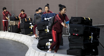 Chinese women's footballers arrive in France, gear up for France World Cup