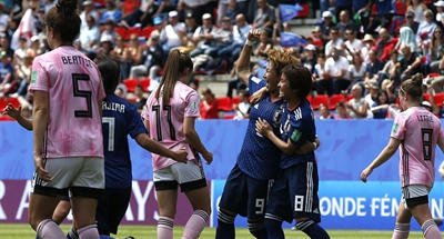 Japan claim first win in Women's World Cup