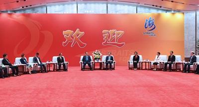 Top political advisor stresses cross-Strait economic exchanges, integration