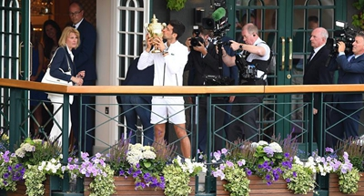 Djokovic beats Federer to win his fifth Wimbledon title