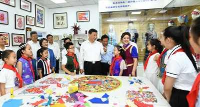 Xi stresses people-centered development in Inner Mongolia inspection