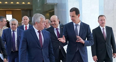 Assad, Putin's special envoy discuss Ankara's tripartite summit on Syria