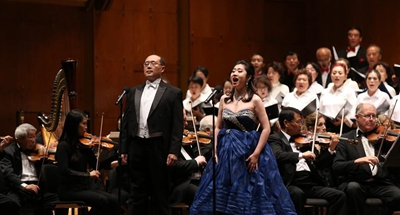 Concert marking 70th anniversary of PRC founding held in New York