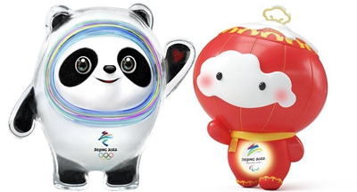 Beijing 2022 Winter Olympic and Paralympic mascots unveiled