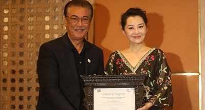 Nepal appoints Chinese actress Xu Qing as goodwill ambassador