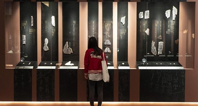 Exhibition held to commemorate oracle bone inscription discovery