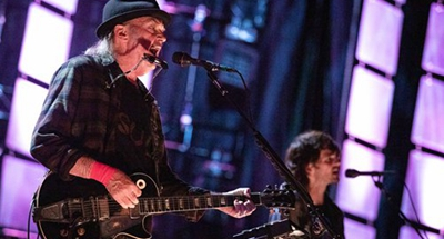 Neil Young's new 'Colorado' album tackles climate change