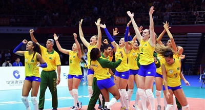 Brazil beat China 3-1 to retain women's volleyball title at World Military Games