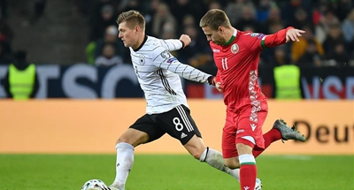 Germany book EURO 2020 berth with 4-0 win over Belarus