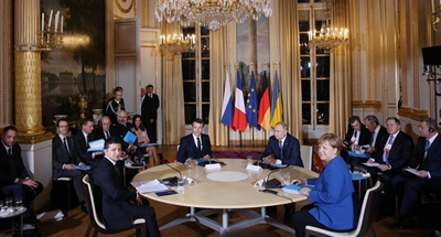 Ukraine, Russia agree on full ceasefire in E. Ukraine by year-end