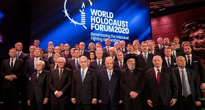 World leaders in Jerusalem call for struggle against anti-Semitism