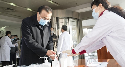 Chinese premier urges vaccine, medicine development against epidemic