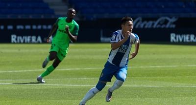Suarez goal keeps Barca's title hopes alive and relegates Wu Lei's Espanyol