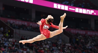 Lu Yufei crowned as national All Around gymnastics queen