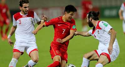 China beats Syria to reach final round of WC Asian Qualifiers