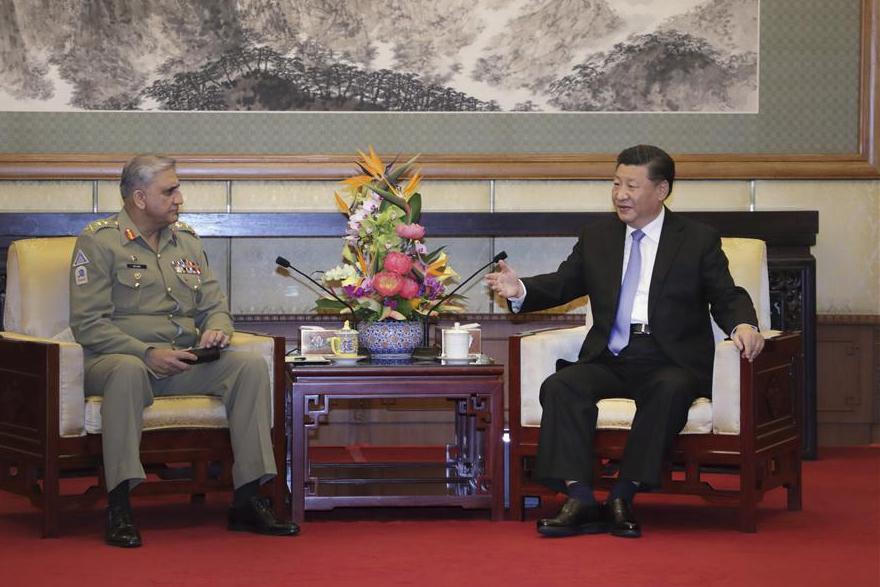 Xi meets Pakistani army chief