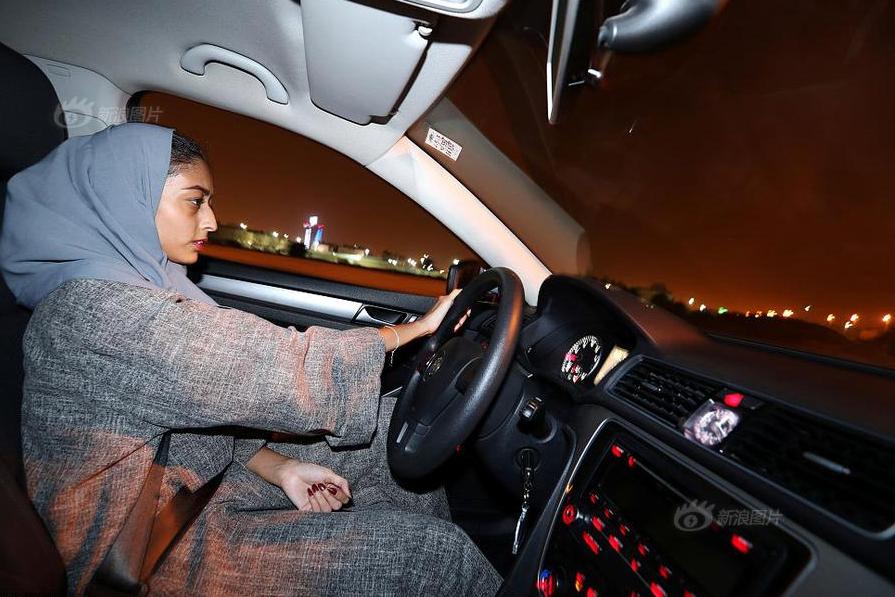 Saudi Arabian women take wheel for first time as ban on female driving lifted