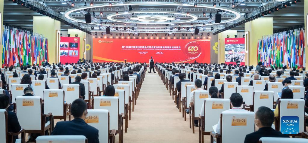 130th Canton Fair opens in Guangzhou