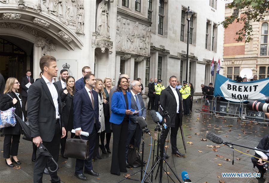 Britain's Supreme Court says PM's parliament suspension unlawful