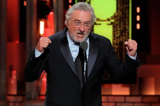 Robert De Niro hit out at Donald Trump at the Tony Awards (Reuters)