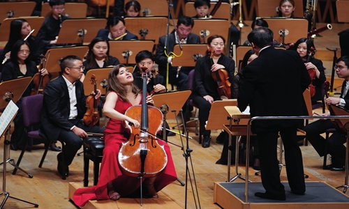 US cellist Alisa Weilerstein makes her debut with the Shanghai Symphony Orchestra on Monday. Photo: Courtesy of the Shanghai Symphony Orchestra