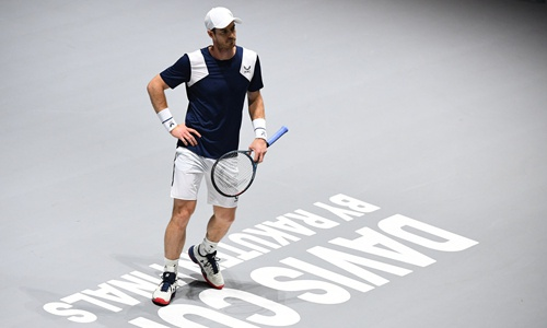 Andy Murray Photo: AFP
