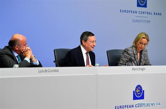 欧洲央行至少在2019年底保持利率不变