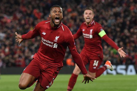 利物浦巨人队在冠军杯决赛中击败巴萨