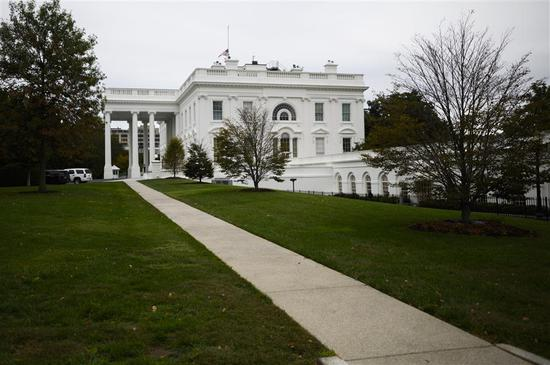 The White House is seen on October 6, 2019, in Washington, DC.
