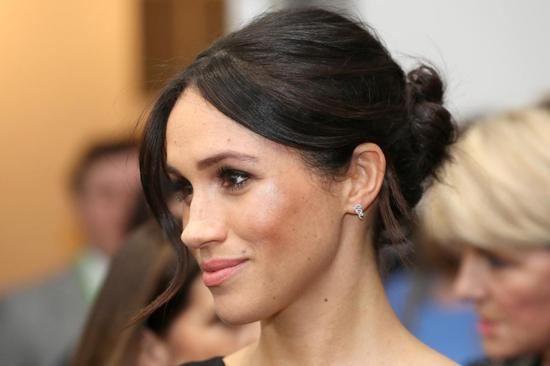 FILE PHOTO: Meghan Markle attends the Women's Empowerment reception hosted by Foreign Secretary Boris Johnson during the Commonwealth Heads of Government Meeting at the Royal Aeronautical Society on April 19, 2018 in London, England. Chris Jackson/Pool via Reuters