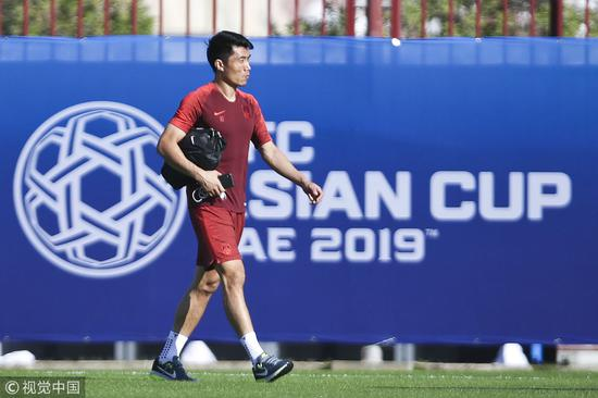 China's Captain Zheng Zhi, who missed the opener, is now ready for the upcoming Philippines match on Friday. /VCG Photo