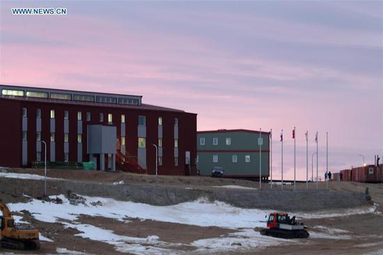研究人员说,中国的中山站在探索南极洲方面发挥了重要作用。
