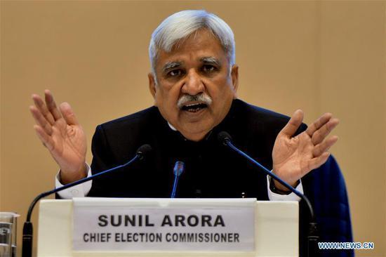 印度将从4月11日起分7个阶段举行大选