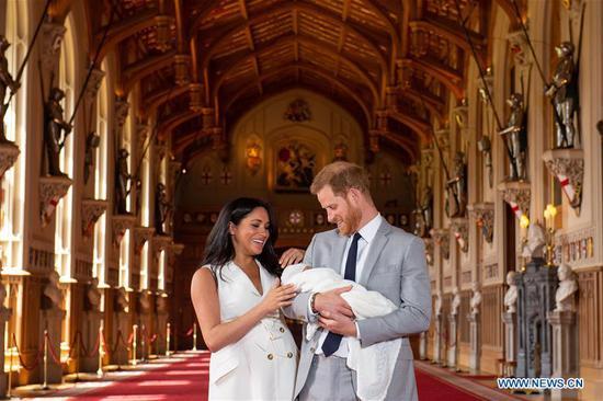 哈里王子和梅根的小男孩阿奇 2