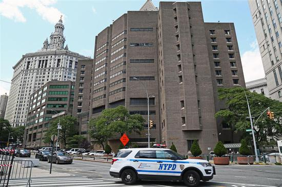 Federal Correctional Facility in Manhattan, New York, on August 10, 2019.