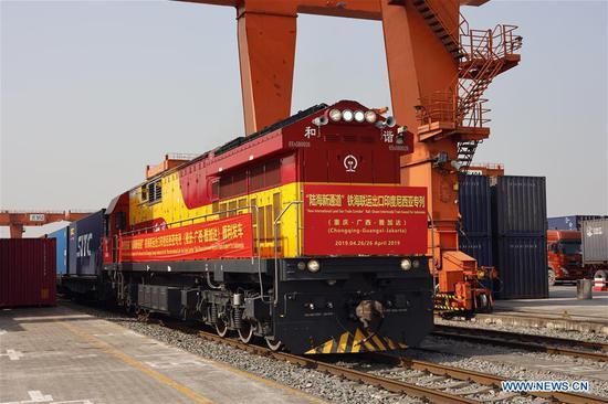 中国发布西部新海陆运输通道总体规划