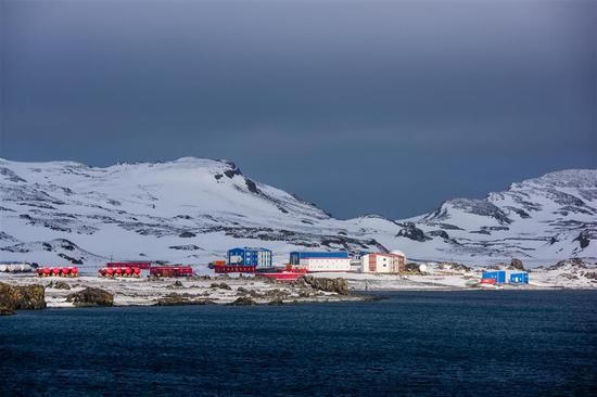 The Great Wall station in Antarctica.