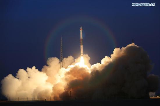 中国将两颗全球多媒体卫星送入计划轨道