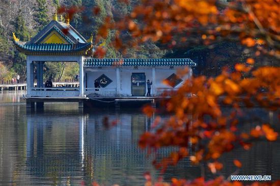 The Ruqin Lake is seen at Lushan scenic spot in east China's Jiangxi Province, Nov. 17, 2019. (Xinhua/Hu Chenhuan)